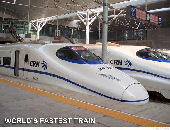 China Unveils the Worlds Fastest Super High Speed Train