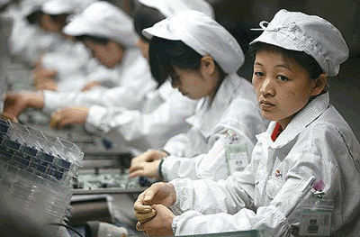 China Factory Suicides Signal End of Cheap Labor