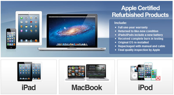 Apples (AAPL) New Certified Refurb Store Now Available on eBay