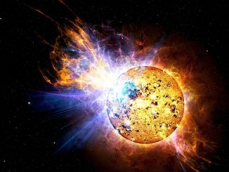 space solar flare