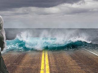 global warming road