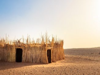 global warming hut