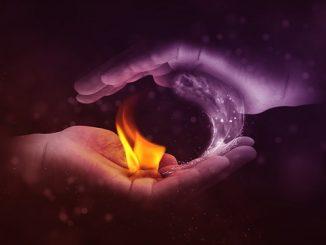 science water fire