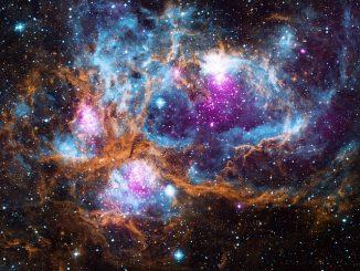 space lobster nebula