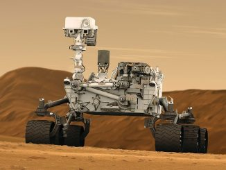 space mars curiosity