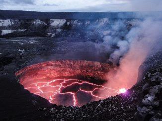 volcanoes lava