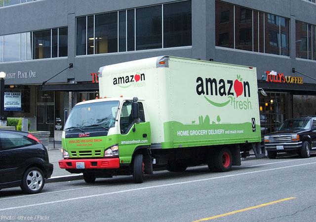 Amazon.com AMZN Truck