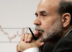 Fed Chairman Bernanke Says Recession Very Likely Over
