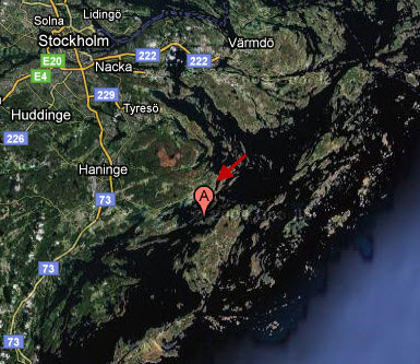 Tiger Woods Wife May Be Fleeing to Faglaro Island, Sweden