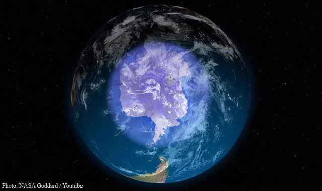 Earth Ozone Hole