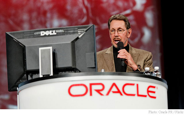 Oracle ORCL Larry Ellison