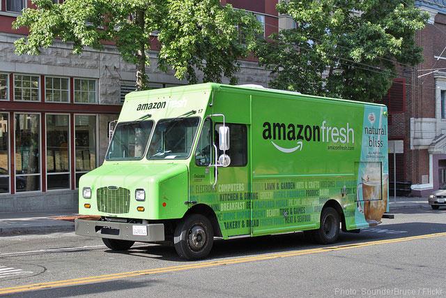 Amazon AMZN truck
