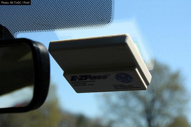 E-Z Pass Transponder