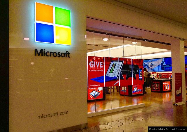 Microsoft MSFT Store
