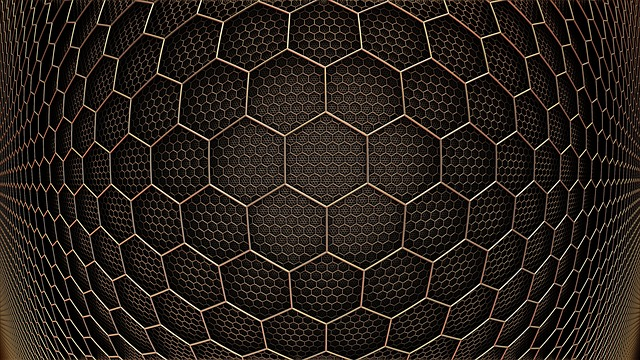 Graphene Hexagon Grid