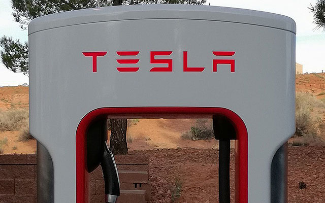 Tesla Supercharger - TSLA