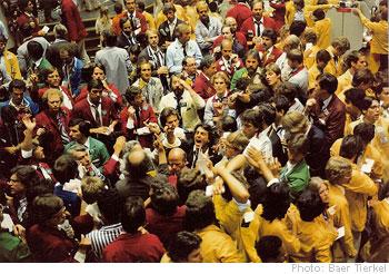Cboe option trading floor spx pit